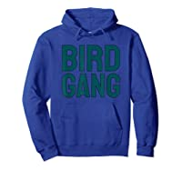 Bird Gang Eagle Sports Tailgate Party Gift Shirts Hoodie Royal Blue