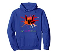 Share Love For And Shirts Hoodie Royal Blue