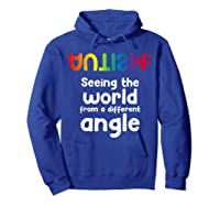 Special Needs Tea Student Gift Autism Awareness Month Shirts Hoodie Royal Blue