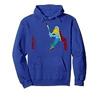 West Indies Cricketer Batsman Wicket Cricket Match Shirts Hoodie Royal Blue