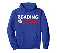 Book Reading Bookworm Librarian Library T-shirt Hoodie Royal Blue