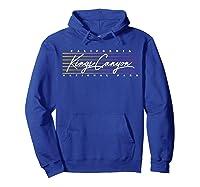 Retro Kings Canyon National Park T-shirt Hoodie Royal Blue
