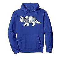 Teasaurus Shirt - Tea Dinosaur Shirts - Dinosaur Tee Hoodie Royal Blue