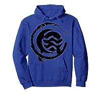 Nickelodeon The Legend Of Korra Bw Water Elet Logo Shirts Hoodie Royal Blue