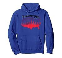 Hands Across America T Shirt Hoodie Royal Blue