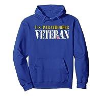 Us Paratrooper Army Veteran Airborne Division Premium T-shirt Hoodie Royal Blue
