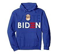 My Shih Tzu Want Vote For Joe Biden Funny President Shirts Hoodie Royal Blue