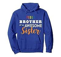 Proud Brother, Gay Pride Lgbt Shirts Hoodie Royal Blue