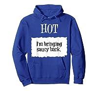 Hot Taco Sauce Halloween Packet Costume T-shirt Hoodie Royal Blue