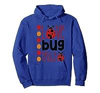 Love Bug Tribe Red Lady Bug Girls Squad Shirts Hoodie Royal Blue
