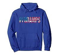 S 4th Of July Grandpa Vintage Usa American Flag Gramps Gift T-shirt Hoodie Royal Blue