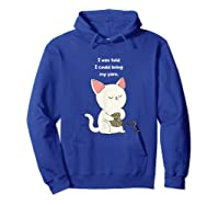 Funny Knitting Funny Knitting Gift Shirts Hoodie Royal Blue