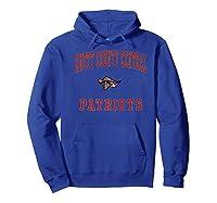 Knott County Central High School Patriots Shirts Hoodie Royal Blue