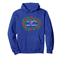 All Bodies Are Good Bodies Body Positive Premium T-shirt Hoodie Royal Blue