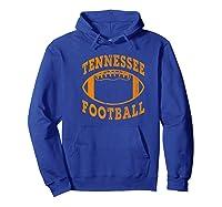 Tennessee Football Vintage Distressed Premium T-shirt Hoodie Royal Blue