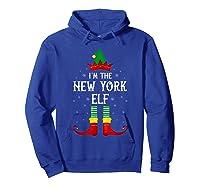 I\\\'m The New York Elf Family Group Christmas T-shirt Hoodie Royal Blue