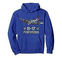 Ww2 Aviation B 17 Flying Fortress Gift Shirts Hoodie Royal Blue
