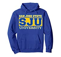 San Jose State 1887 University Apparel Shirts Hoodie Royal Blue