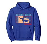 Waylon Jennings Hangin Tough Merchandise Shirts Hoodie Royal Blue