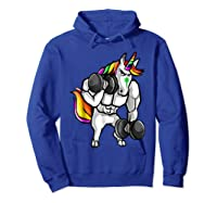 Weightlifting Ness Unicorn Shirts Hoodie Royal Blue