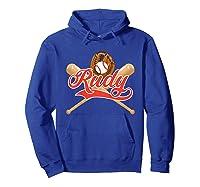 Baseball Player Rudy Birthday Boy T-shirt \\\'s Name Hoodie Royal Blue