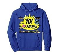 Mtv Yo! Raps Shirts Hoodie Royal Blue