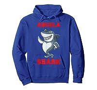 Abuela Shark Tshirts: Funny Spanish Gift T-shirt Hoodie Royal Blue