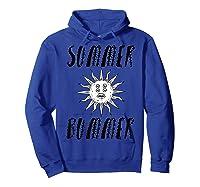 Summer Bummer Seapunk Shirts Hoodie Royal Blue