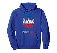 Football Is Everything - Chelsea Lion Pride Retro T-shirt Hoodie Royal Blue