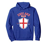 England Soccer English Flag Football Gift Shirts Hoodie Royal Blue