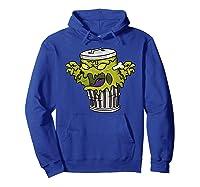 Garbage Monster Funny Gift Halloween Shirts Hoodie Royal Blue