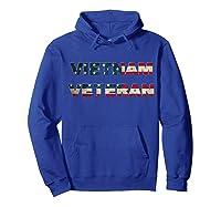 Vietnam Veterans Us Stars And Stripes American Flag Shirts Hoodie Royal Blue