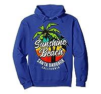 California Hawaii Surf Surfing Board Beach Vintage Retro Shirts Hoodie Royal Blue