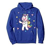 Cute Unicorn, Gift For Unicorn Lover Unicorn Lover Gift Shirts Hoodie Royal Blue