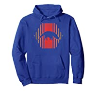 Anteater Retro Vintage 80s Style Gift Shirts Hoodie Royal Blue
