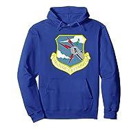 Strategic Air Command Sac Cold War Grunge T-shirt Hoodie Royal Blue
