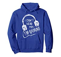 Funny Computer Gaming Gamer Video Game Gift For Shirts Hoodie Royal Blue