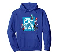 Dr Seuss The Cat In The Hat Characters Shirts Hoodie Royal Blue