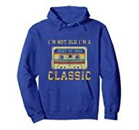 Vintage Cassette I\\\'m Not Old I\\\'m A Classic 1992 27th Tank Top Shirts Hoodie Royal Blue