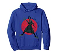 Samurai Jack Traditional Armor Shirts Hoodie Royal Blue