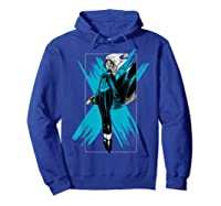 Marvel X- Storm Color Pop Box Graphic T-shirt Hoodie Royal Blue
