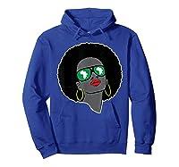 Black History Tshirts For | Pan African Shirt | 1619 T-shirt Hoodie Royal Blue