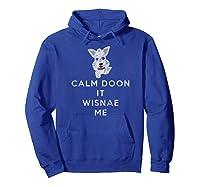 Funny Scottish Terrier T-shirt Scotland Scottie Dog Tshirt Hoodie Royal Blue