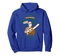 Christmas Vacation Bend Over I'll Show You Shirts Hoodie Royal Blue