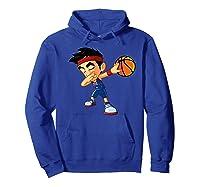 Dabbing Basketball Boy Player Australia Flag Funny Dab Dance Premium T-shirt Hoodie Royal Blue