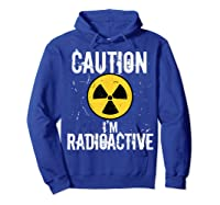 Radiation Therapy Funny Cancer Get Well Soon Gift Survivor T-shirt Hoodie Royal Blue