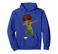 Soccer Shirt For Funny Dabbing Tee Gifts Hoodie Royal Blue