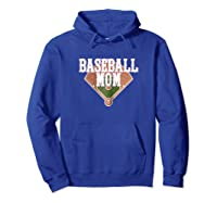 Cute Baseball For Mom Cute Mom Baseball Shirts Hoodie Royal Blue
