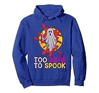 Cute Ghost Girls Costume Spooky Halloween T-shirt Hoodie Royal Blue