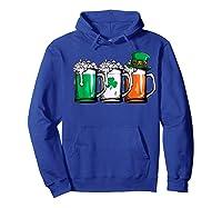 Irish Beer Ireland Flag St Patricks Day Leprechaun Shirts Hoodie Royal Blue